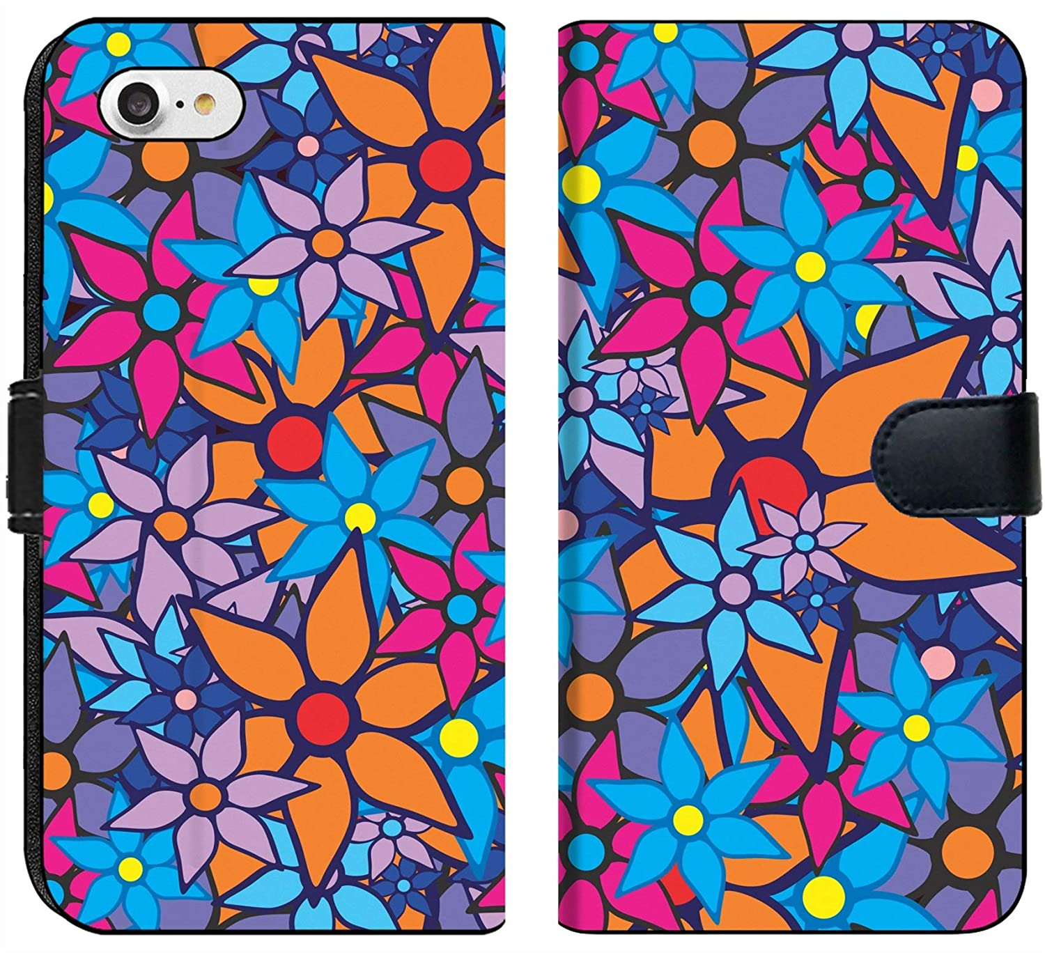 Amazon Com Apple Iphone 7 And Iphone 8 Flip Fabric Wallet Case