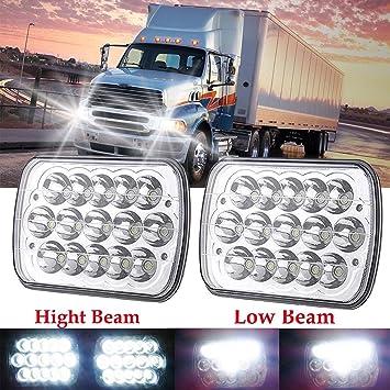LED 7x6 Sealed Beam Headlights Hi/Low For STERLING TRUCK LT9500