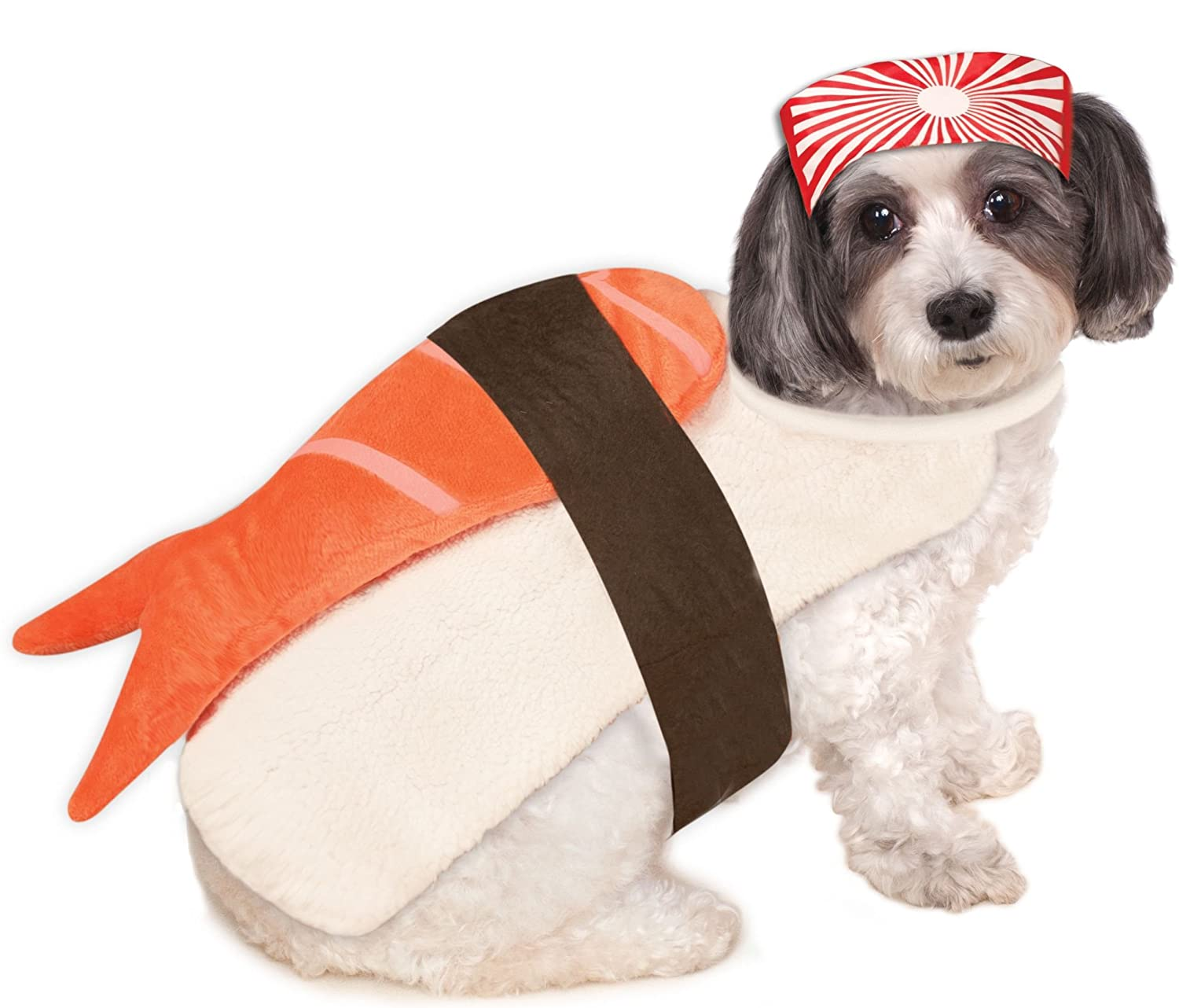 Rubies Costume Company Sushi Pet Costume Rubie's Sushi Pet Costume Small 580163 S