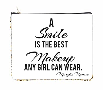 Amazoncom A Smile Is The Best Makeup Any Girl Can Wear Marylin