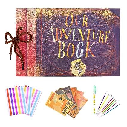 Amazon Scrapbook Album 80 Pages Our Adventure Book Anniversary