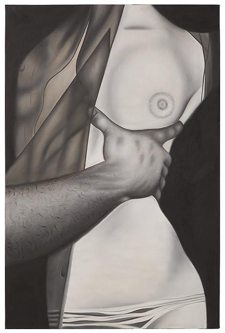 Mauro Ferretti Nessuno Dipinto Su Tela Nudo Abbraccio A 100 X 3 X