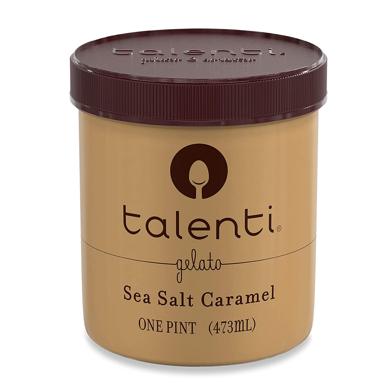 Talenti Gelato, Sea Salt Caramel, 1 pt: Amazon.com: Grocery & Gourmet Food