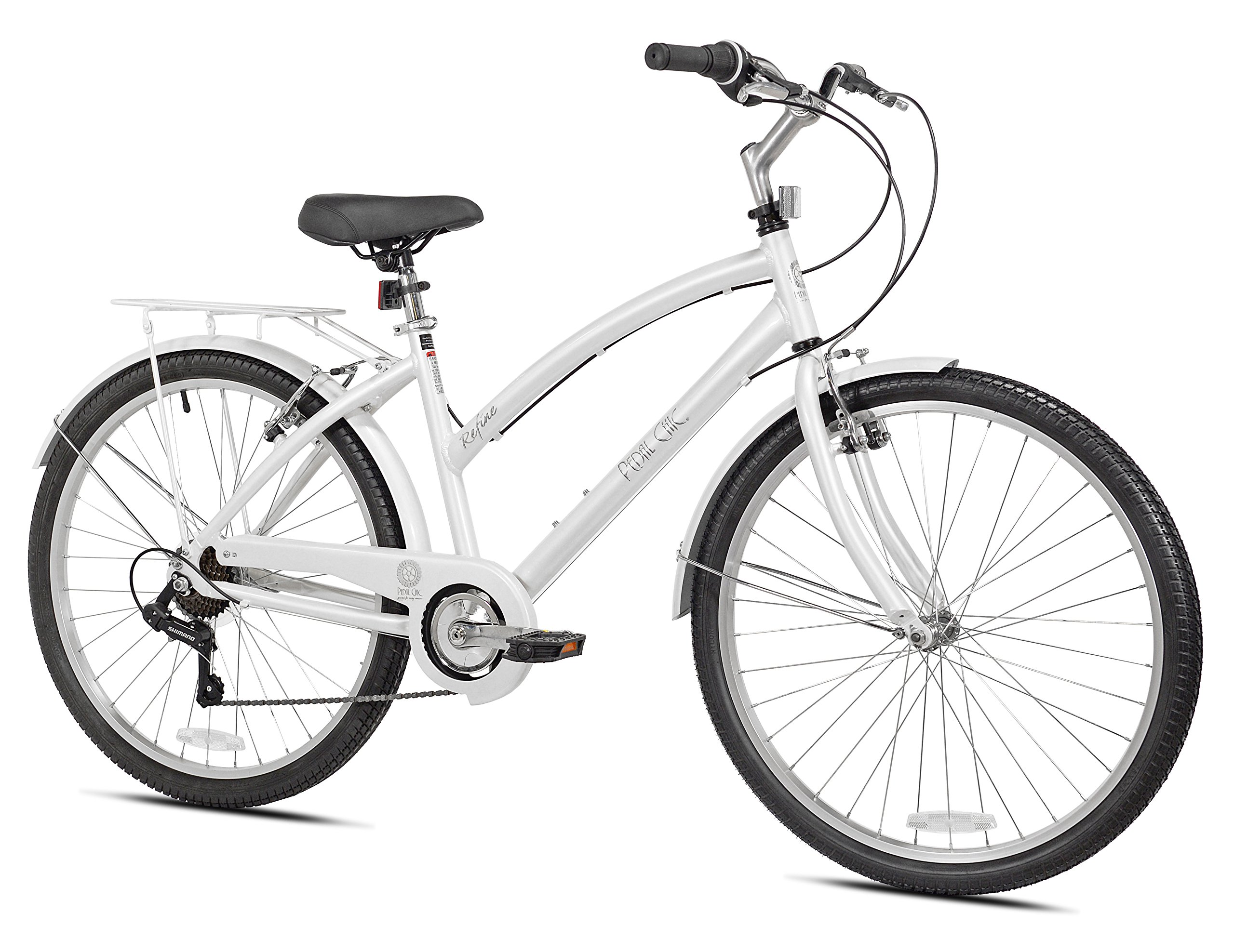 "Pedal Chic Women's 26'' Refine Comfort Bicycle, 17""/One Size"
