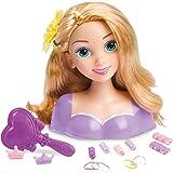 IMC Toys - 211124 - Jeu d'imitation - Tête à Coiffer Raiponce - Petit Modèle