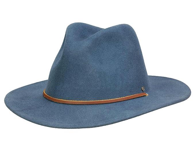87d1f7838d42b Brixton FIELD - Sombrero Traveller para hombre - petrol  Amazon.es  Ropa y  accesorios