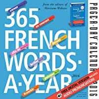 365 French Words-A-Year Page-A-Day Calendar 2016