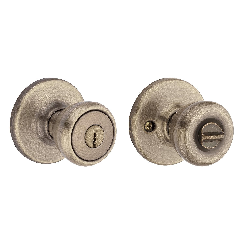 Kwikset 94002-847 Tylo Keyed Entry Knob In Polished Brass