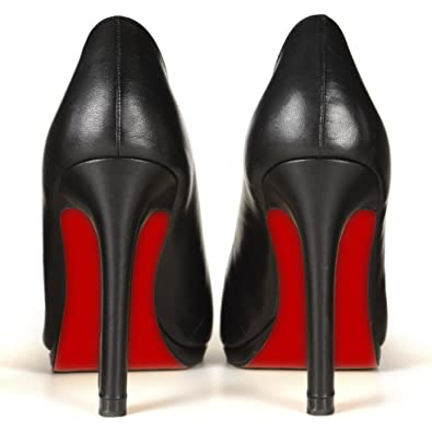 17bff758064 Sole-Glo Women's DIY High Heel Red Color Bottom Enhancer Kit