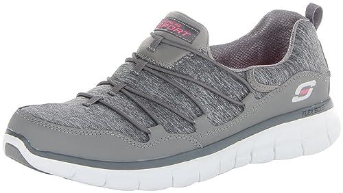 Skechers Go Walk 3?DE La Mujer Low-Top Zapatillas, Color Gris, Talla 41 EU
