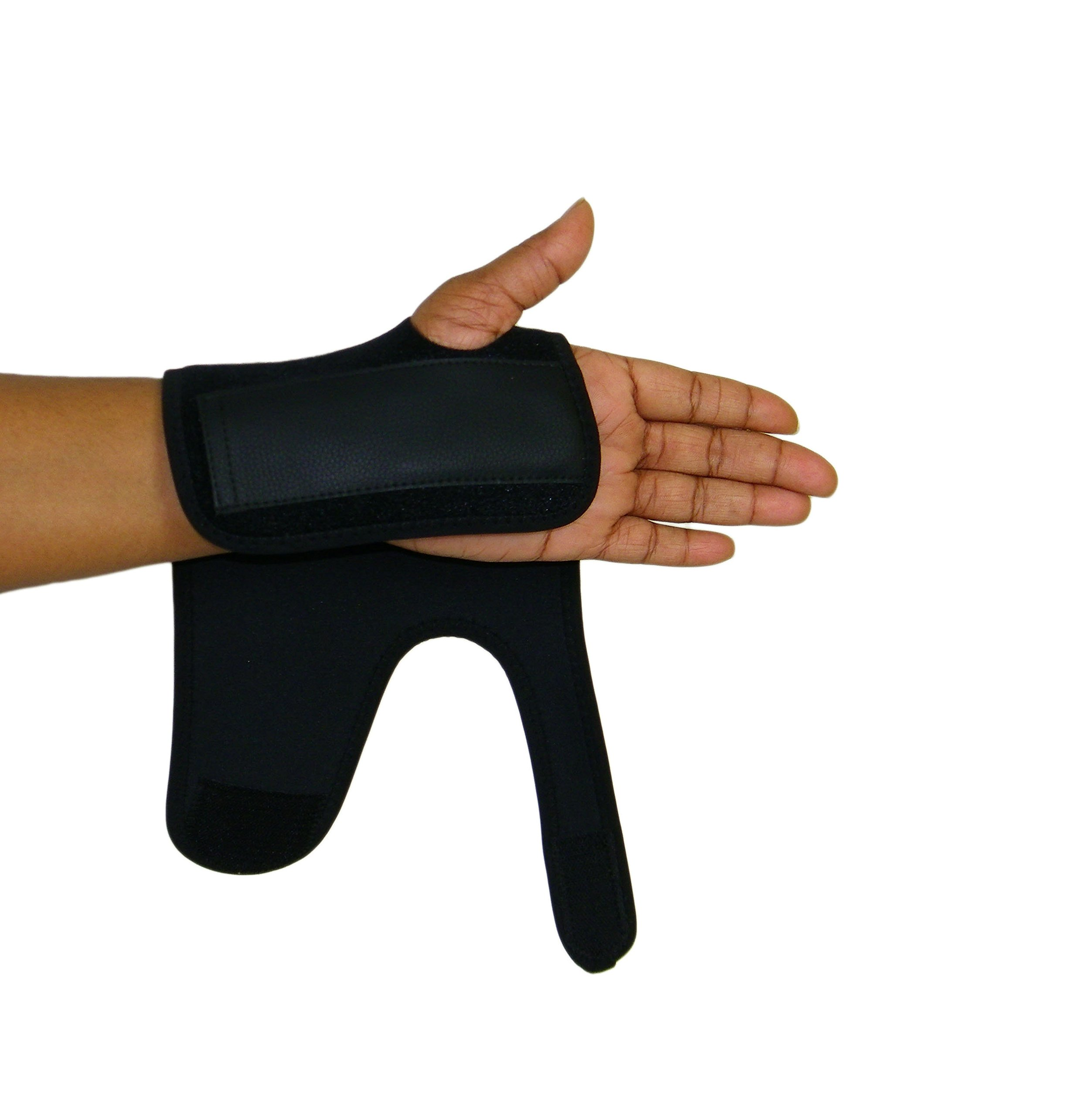 Scan Tru Carpal Tunnel Adjustable Wrist Brace Right Or Left for Women, Men Day Or Nighttime – Breathable, Thin with Metal Splint, Flexible Washable for Work Or Gaming (Short Right)
