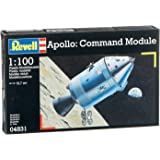 Revell Modellbausatz 04831 - Módulo de comando del Apollo a escala 1:100