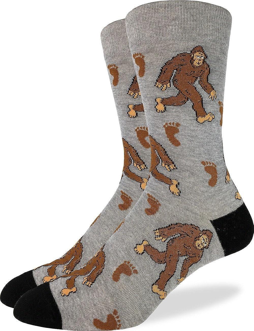 Good Luck Sock Men's Extra Large Bigfoot Socks - Shoe Size 13-17, Big & Tall