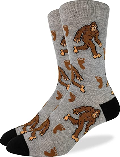 8a863faf3264 Image Unavailable. Image not available for. Color: Good Luck Sock Men's  Extra Large Bigfoot ...