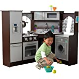 Amazon Com Kidkraft Uptown Espresso Kitchen Toys Amp Games