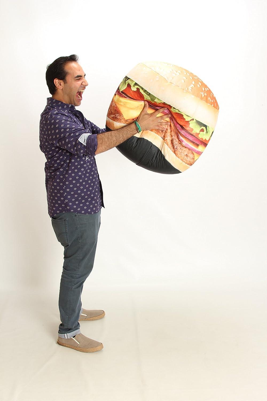 Wow Works Hamburger Bean Bag Chair, Mid Size