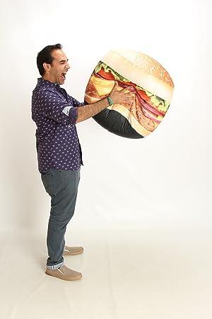 Wow Works Hamburger Bean Bag Chair, Mid Size 646927