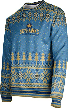 best loved 57a9b 2ed1d ProSphere Fort Lewis College Ugly Holiday Men's Sweater ...