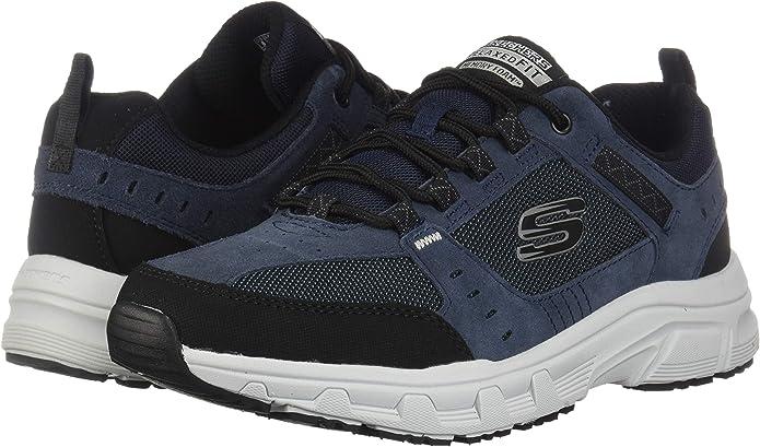 Skechers Relaxed Fit OAK CANYON Herren Outdoor Sneaker blau 51893, Schuhgröße:40 EU