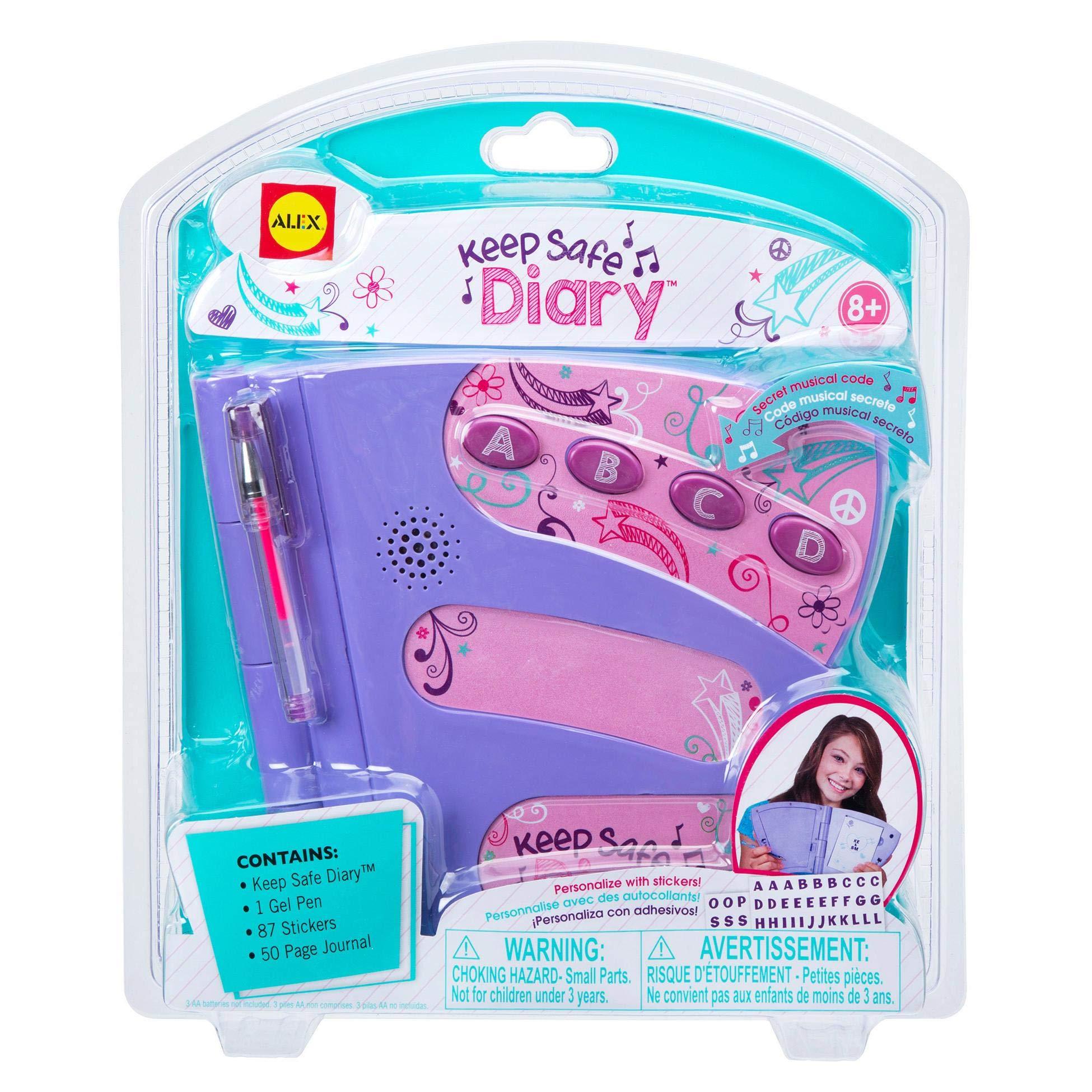 ALEX Toys Craft Keepsafe Diary