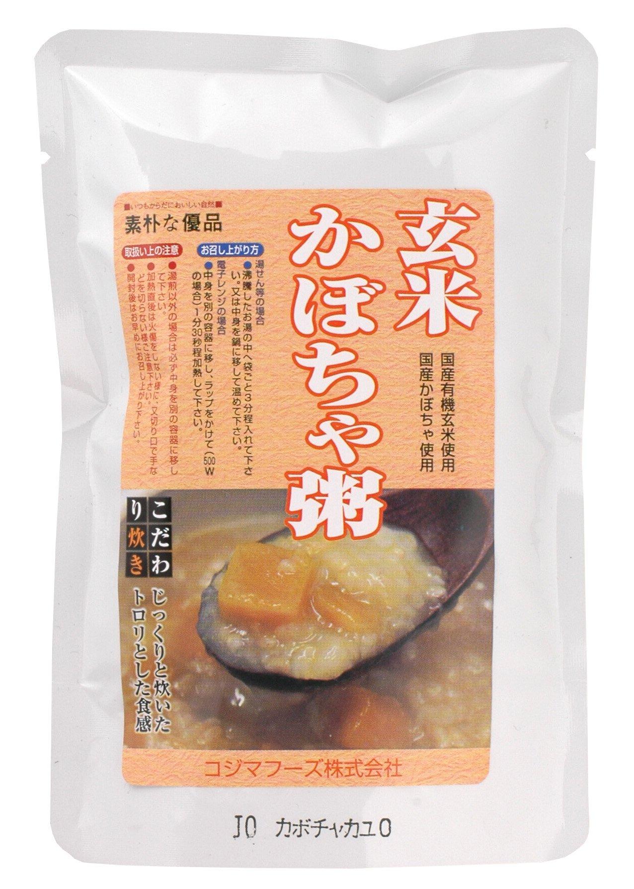 Kojima Foods brown rice pumpkin porridge 200g by Kojima Foods