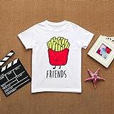 Kids Children Baby Best Friends T-Shirts Cute