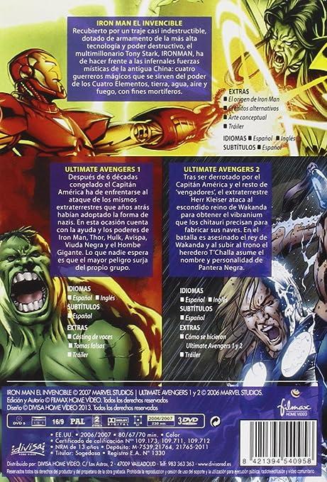 Pack Marvel [DVD]: Amazon.es: Cine y Series TV