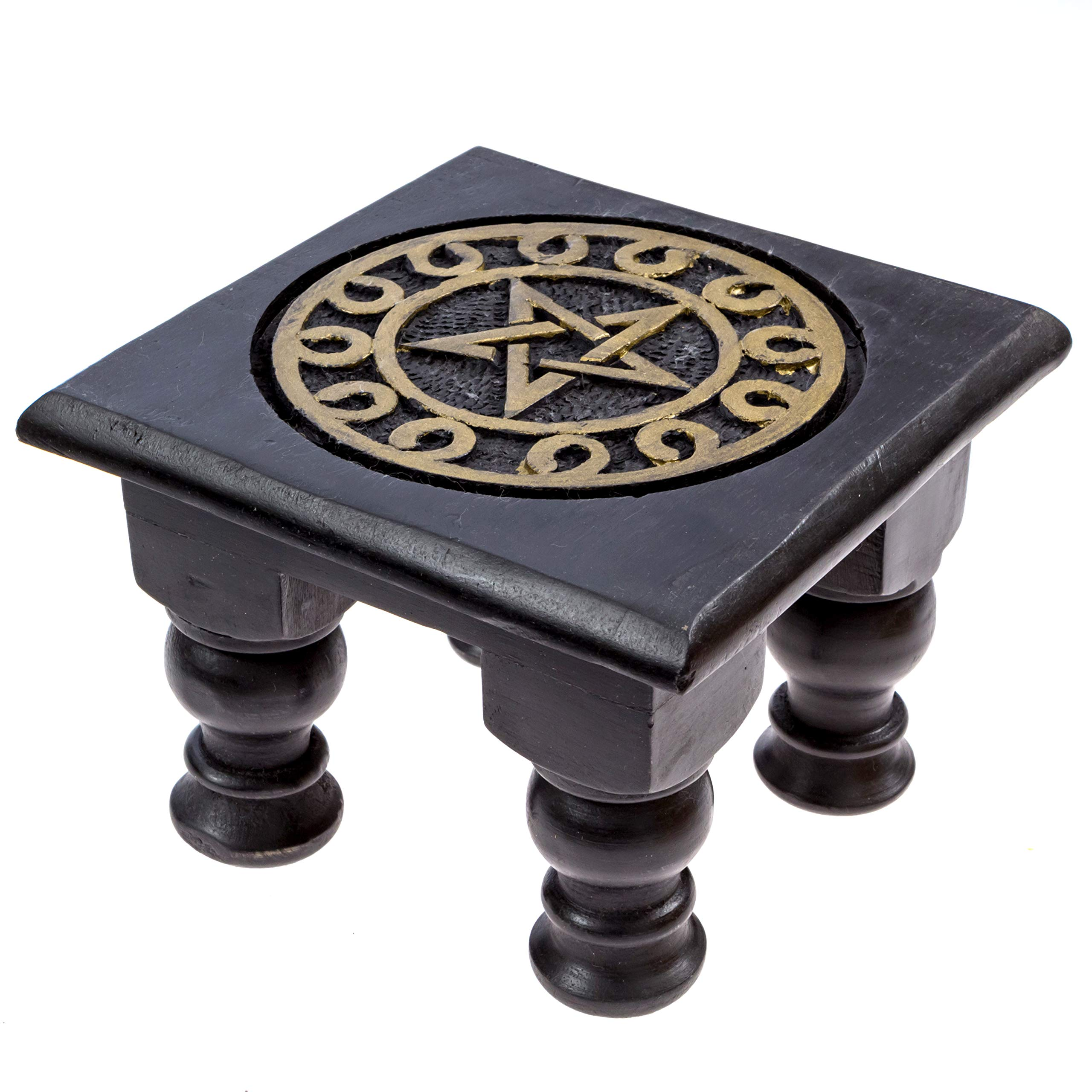Alternative Imagination Deluxe Wiccan Altar Supply Kit Featuring Pentagram Altar Table by Alternative Imagination (Image #3)