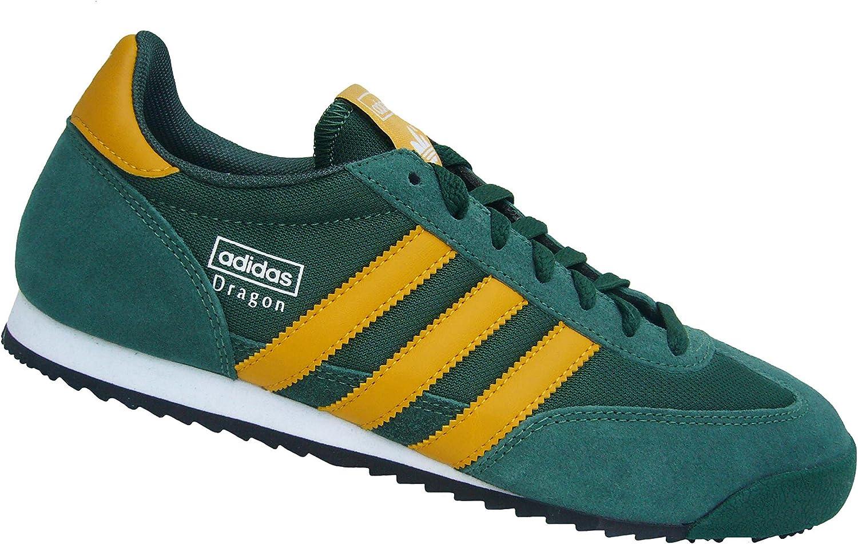 adidas Dragon G63402 Green Size: 8: Amazon.co.uk: Shoes & Bags