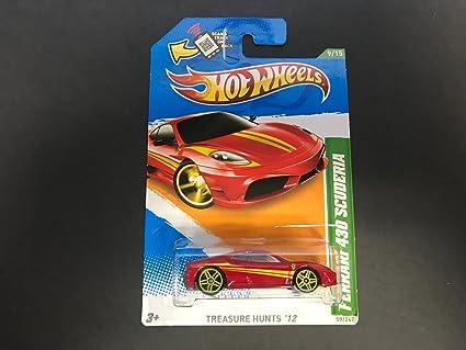 Amazon Ferrari 430 Scuderia Hot Wheels 2012 Treasure Hunt 9 Of