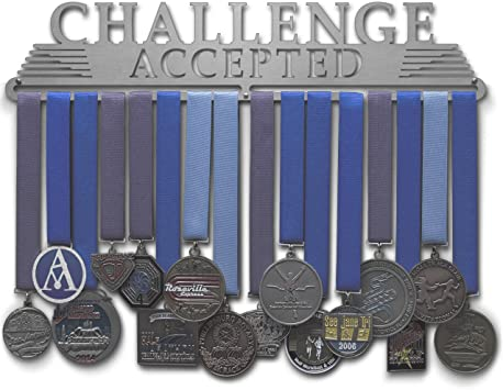 Amazon.com : Allied Medal Hangers - Challenge Accepted ...