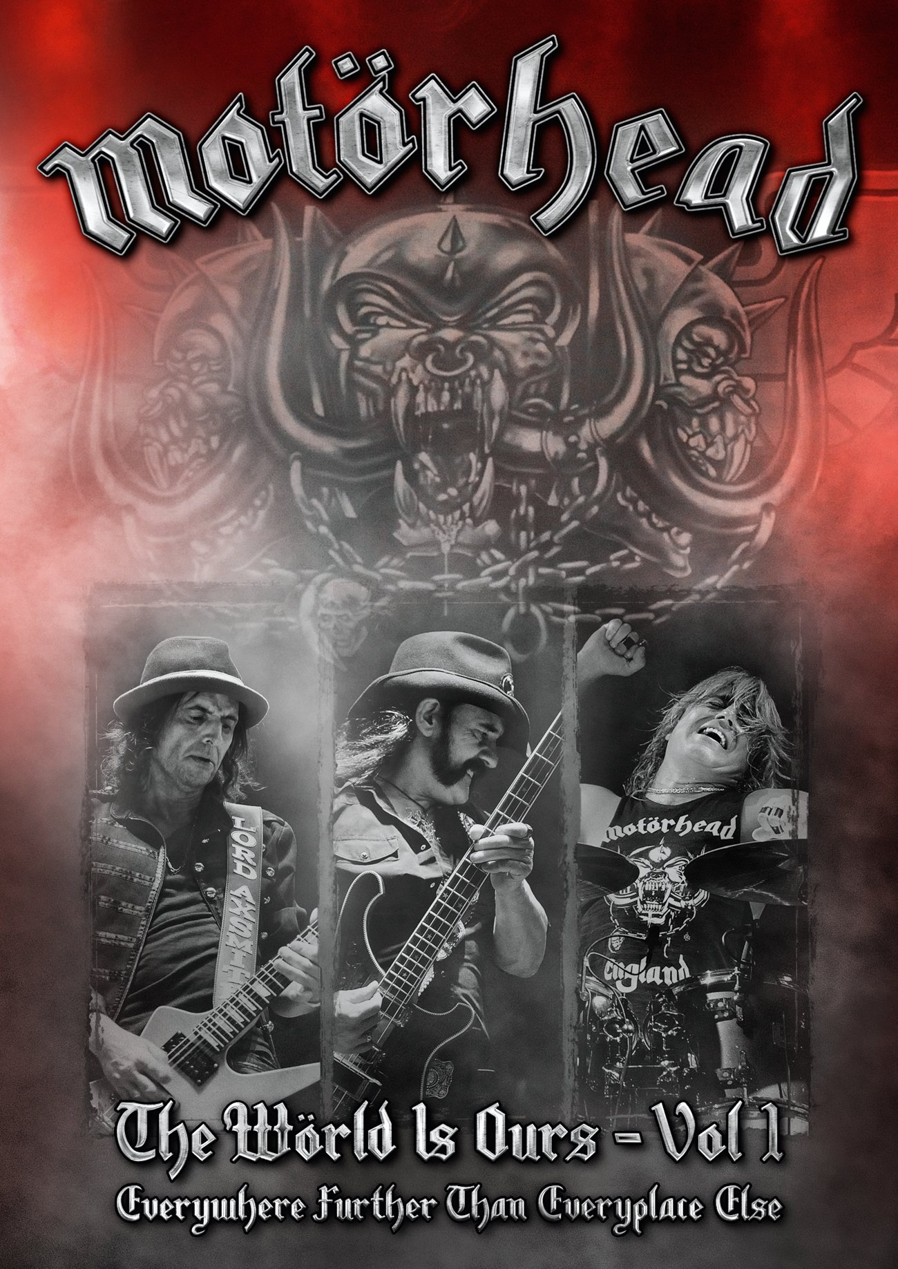 Blu-ray : Motorhead - The World Is Ours: Volume 1: Everywhere Further Than Everyplace Else (Blu-ray)