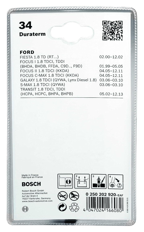 Duraterm Glp144 Bosch 0 250 403 001 Bougie Prech