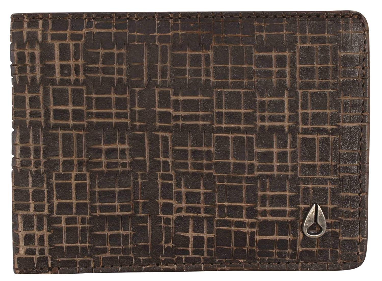 Nixon Cape SE Bi-fold Wallet Dark Brown