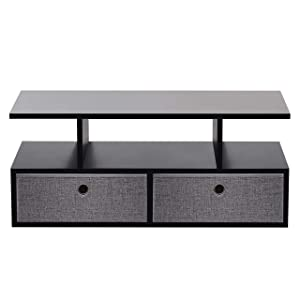 Klaxon Keelan1 Coffee Table (Black)