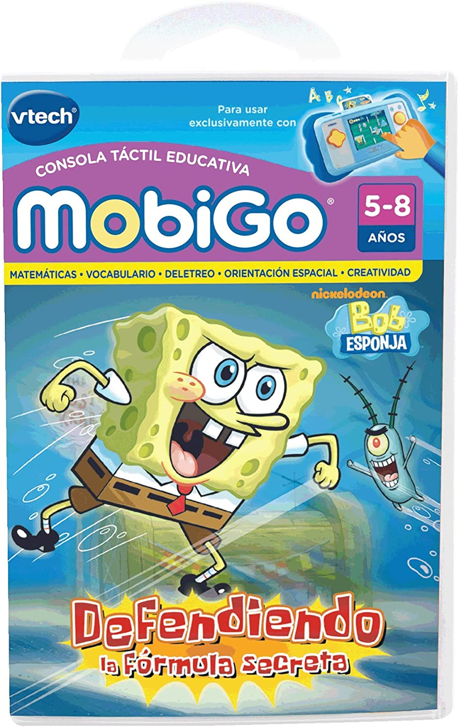 Amazon.es: VTech - Bob Esponja, Defendiendo la fórmula Secreta ...