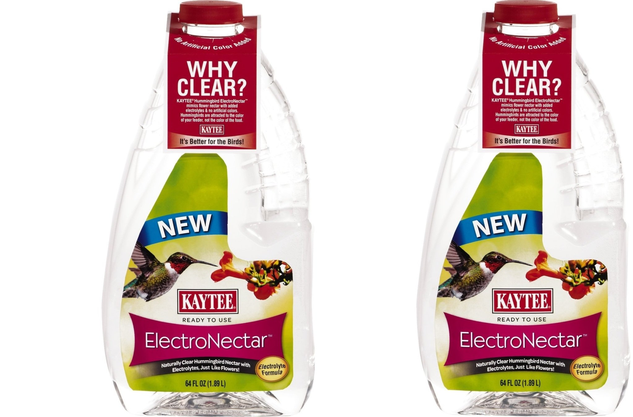 Kaytee Electro Nectar Ready to Use 64oz, dDJtdC 2Pack of 64oz