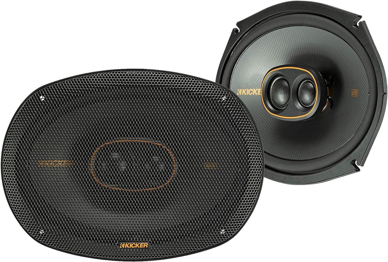 Kicker 47KSC69304 Car Audio 6x9 3-Way 600W Peak Full Range Speakers KSC69304