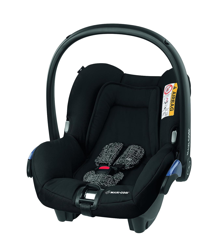 Maxi-Cosi Citi Babyschale, in Kombination mit allen Maxi-Cosi und Quinny-Kinderwagen und Buggys flexibel einsetzbar, Leichtgewicht und für das Flugzeug zugelassen, Gruppe 0+, bis 13 kgz, schwarz Dorel Germany GmbH (VSS) 8823895170