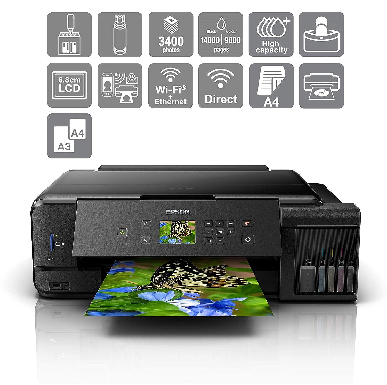 Epson EcoTank ET-7750 Inyección de Tinta 28 ppm 5760 x 1440 ...