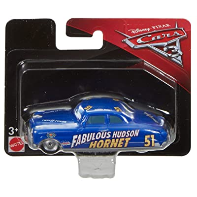 Disney Pixar Cars 3: Basics Collection Fabulous Hudson Hornet Vehicle: Toys & Games