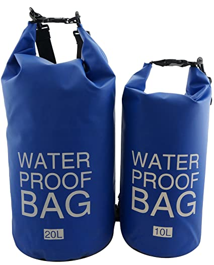 3f2c06d2e790 K-Cliffs Waterproof Floating Dry Bag Roll Top Kayak Sack Sling Backpack  Gear Wet Bags for Kayaking Boating Canoeing Fishing Rafting Swimming  Camping ...