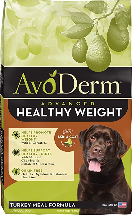 Amazon Com Avoderm Natural Weight Management Dry Dog Food Reduced