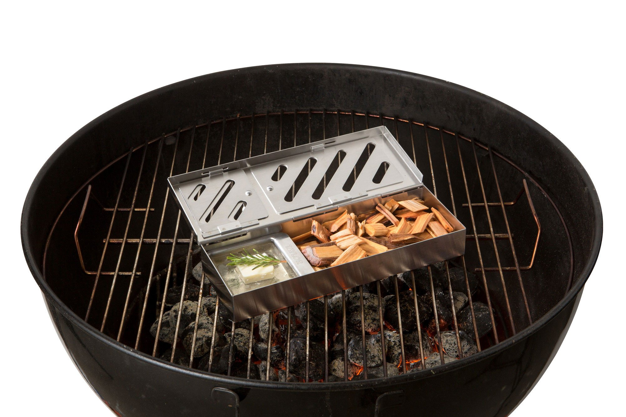 Taylor Precision Products 849GW Durable Grill Smoker Box (3 Piece), 0 by Taylor Precision Products (Image #8)