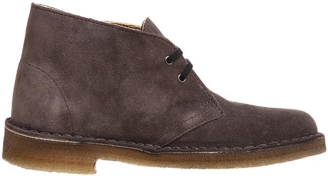 Clarks Desert Boot 203519003, Damen Desert Boots, Grau (Grey Suede), EU 37.5