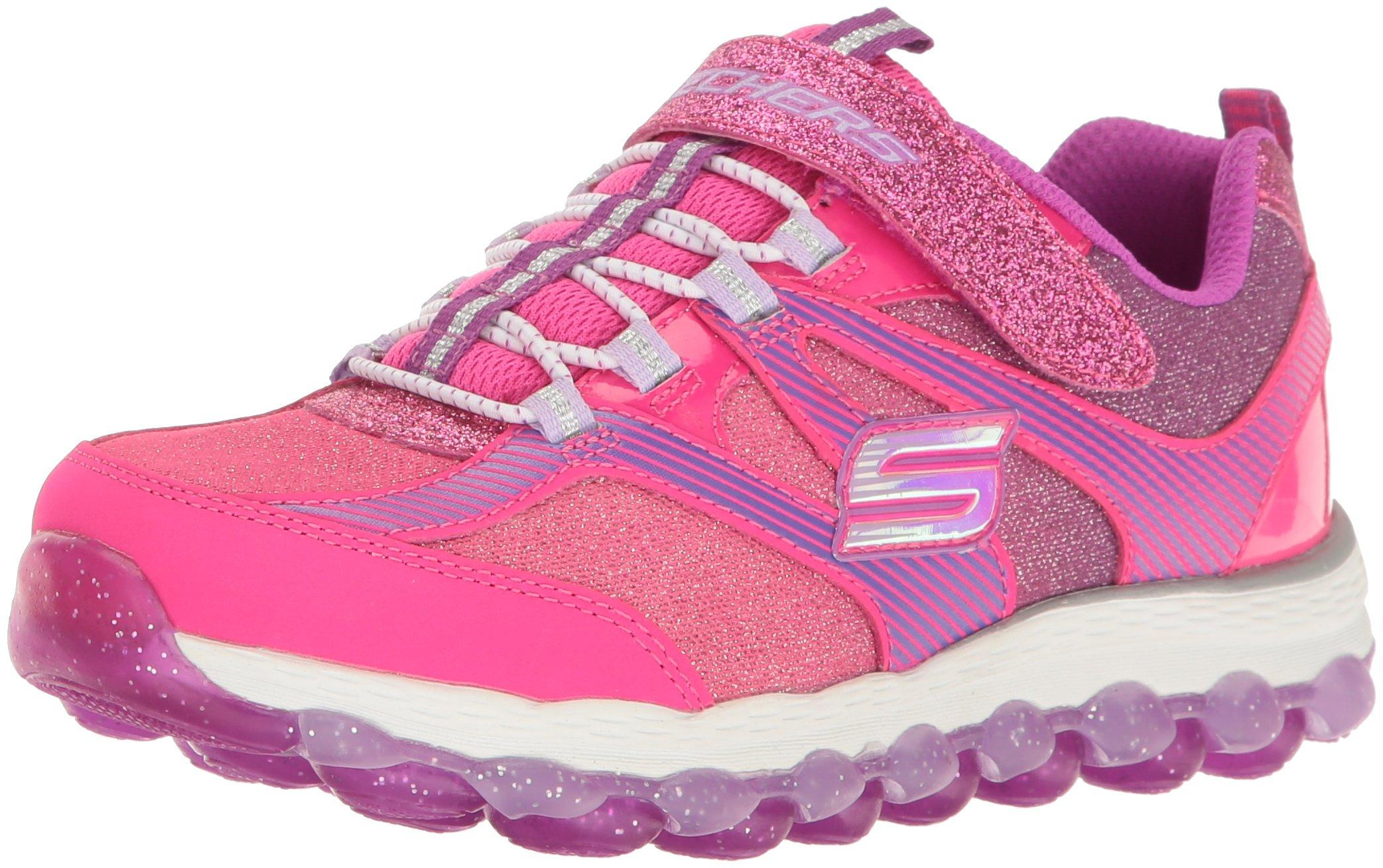 official photos 765a7 506cd Galleon - Skechers Kids Girls  Skech-Air Ultra-Glam It Up Running Shoe,Neon  Pink Purple,