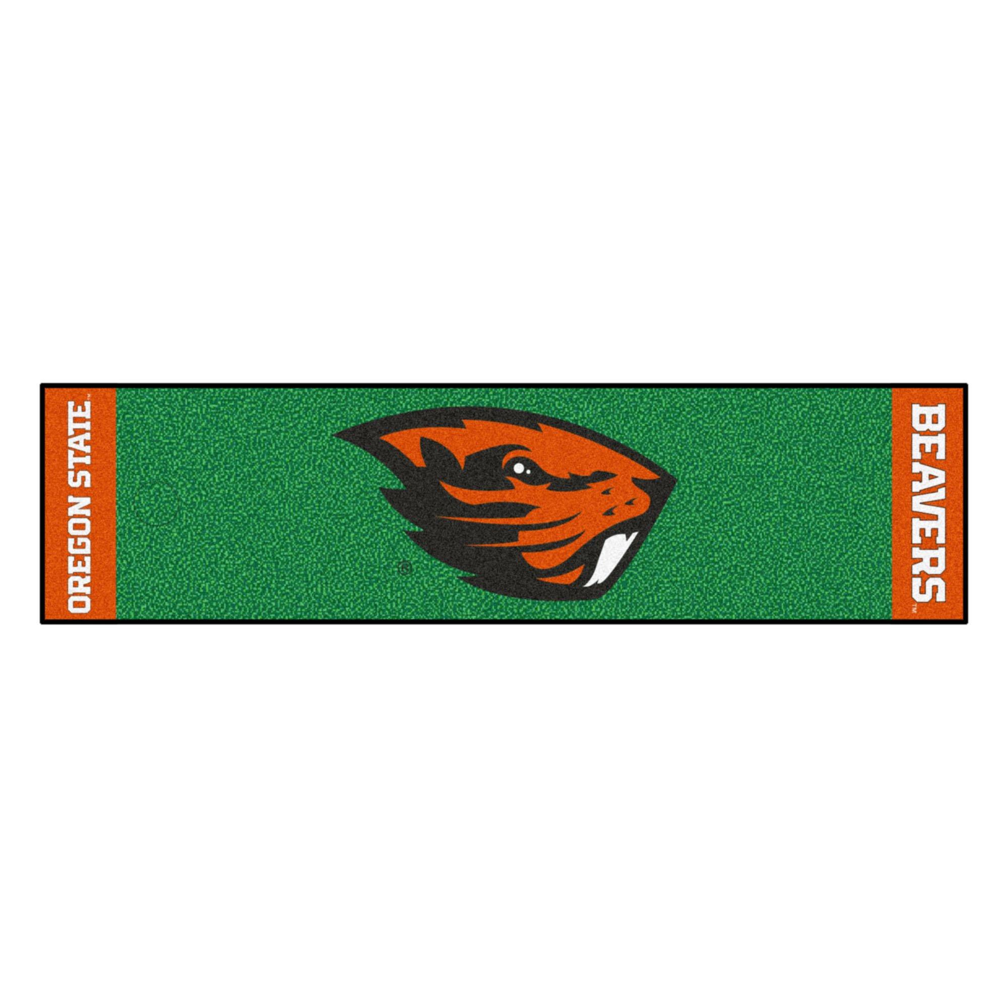 NCAA Oregon State University Beavers Putting Green Mat Golf Accessory