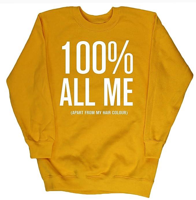 HippoWarehouse ALL ME (Apart From My Hair Colour) jersey sudadera suéter derportiva unisex niños niñas: Amazon.es: Ropa y accesorios