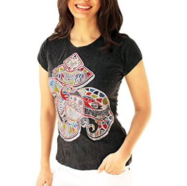 Yoga Tees - Omtimistic Mujer Casual Om Graphic T-Shirt ...