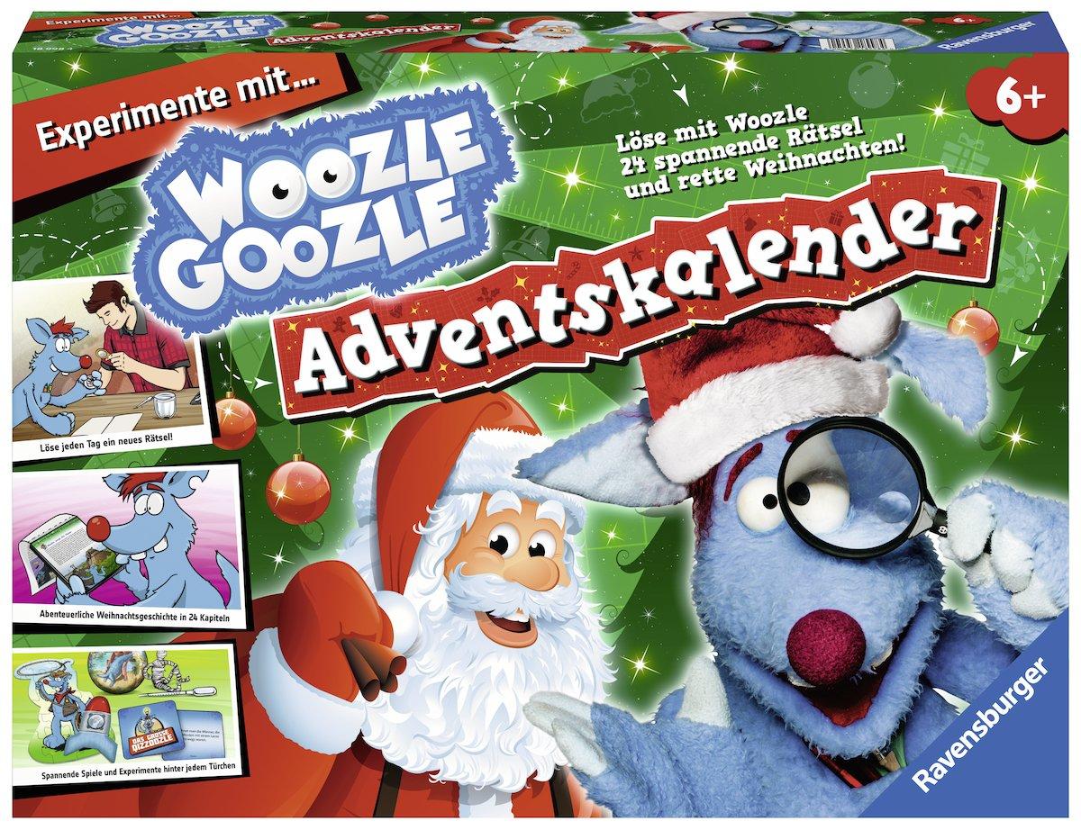 Ravensburger 18998 - Woozle Goozle Adventskalender 2017 Ravensburger Spieleverlag